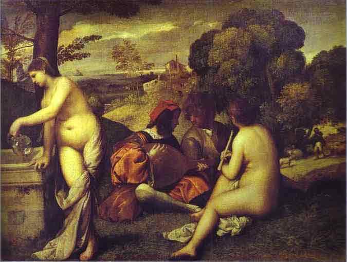 Concert Champetre. c.1510