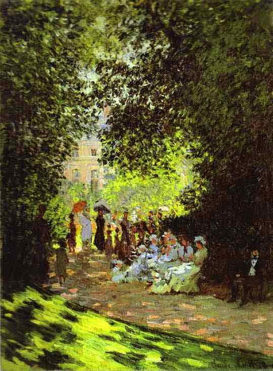 Monceau Park 1878.
