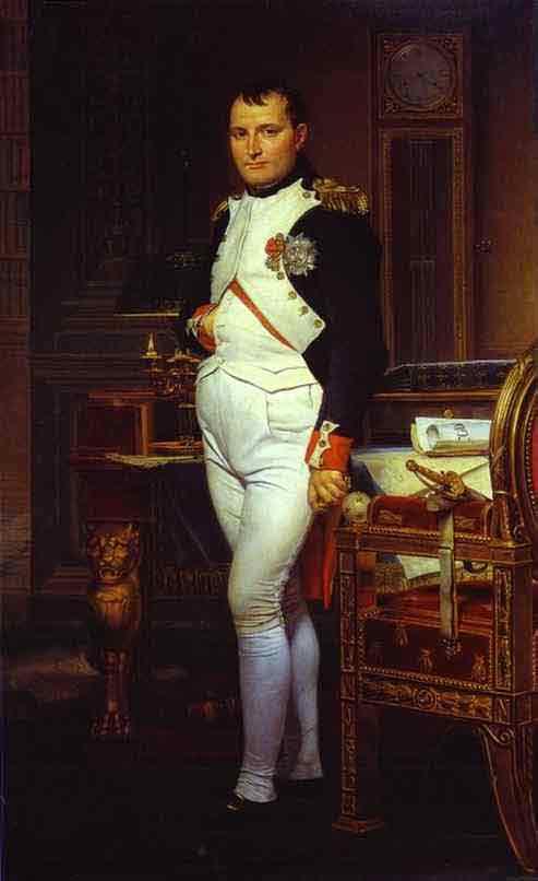 Napoleon in His Study. 1812
