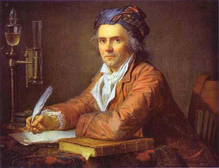 Portrait of Doctor Alphonse Leroy. 1783