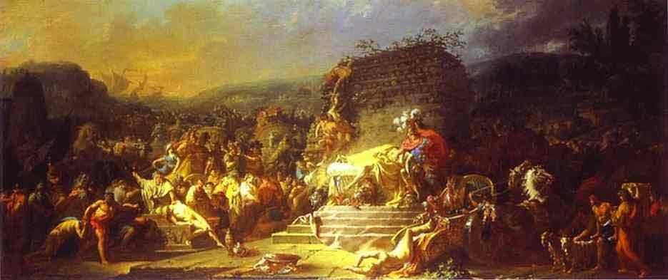 The Funeral of Patroclus. 1778