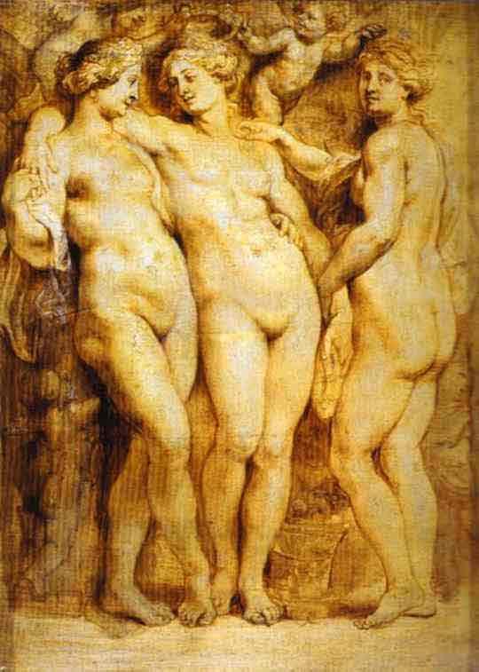 The Three Graces. 1628