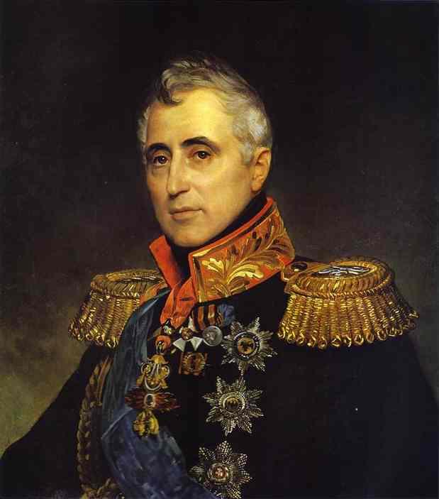 Oil painting:Portrait of Count C. A. Pozzo di Borgo. 1833-1835