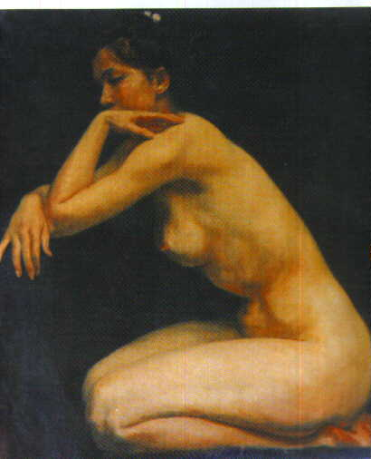 Oil painting for sale:nude-002