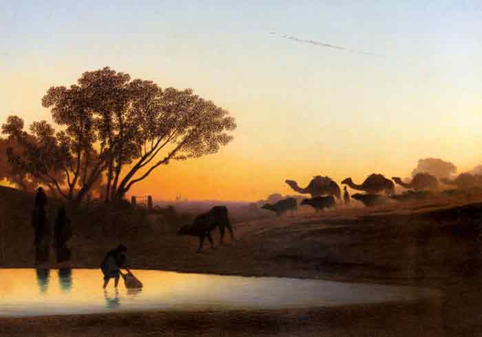 Oil painting for sale:Sunset On The Nile