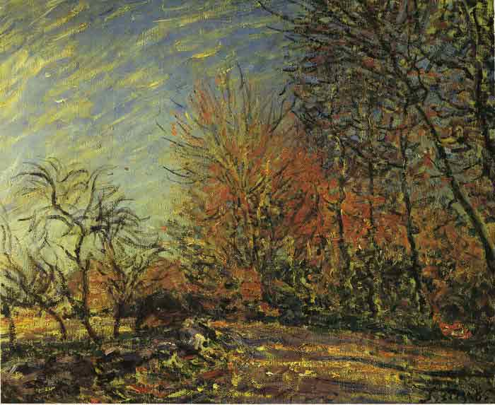Oil painting for sale:The End of the Forest, 1885