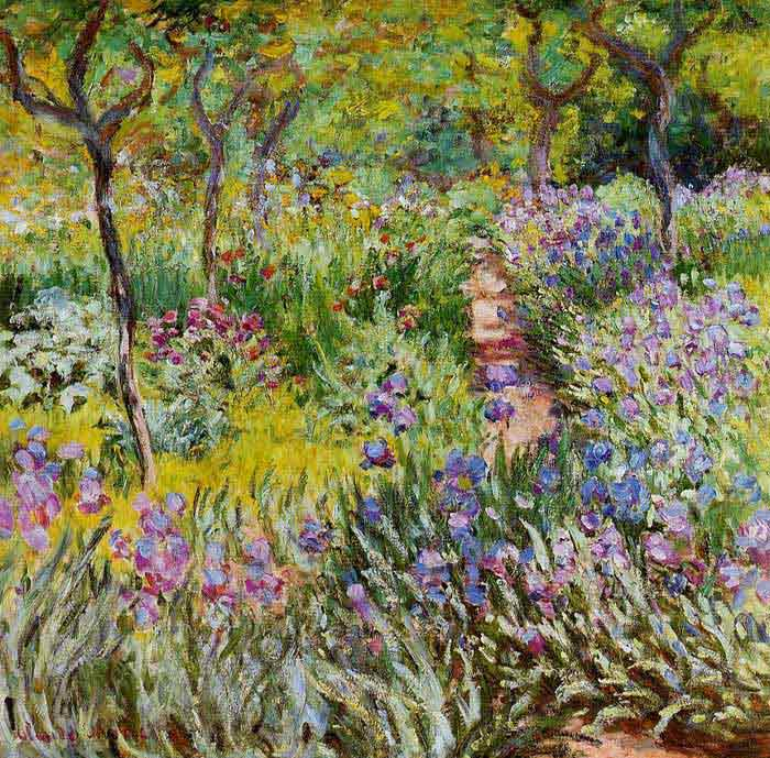 Oil painting for sale:The Iris Garden at Giverny, 1899