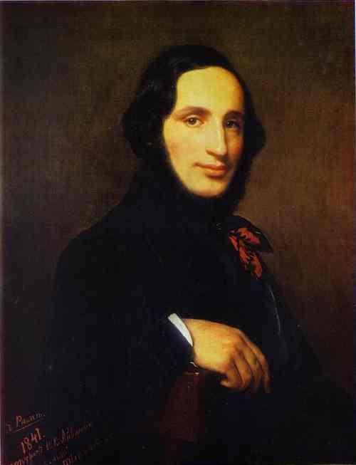Oil painting:Portrait of the Artist Ivan Aivazovsky. 1841