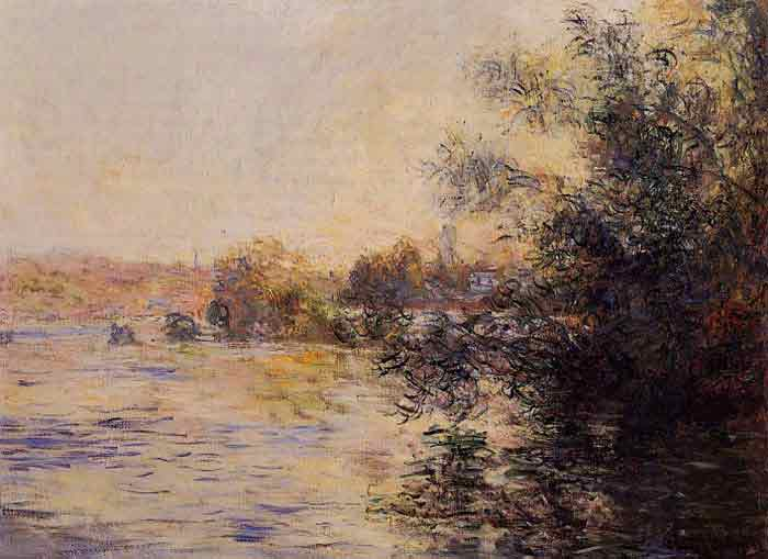 Oil painting for sale:Evening Effect of the Seine, 1881