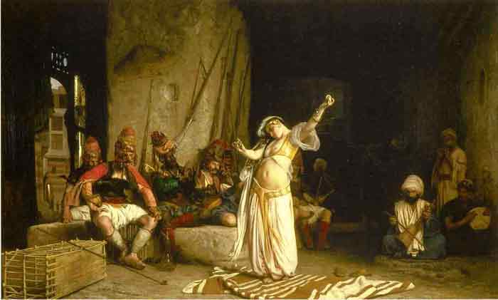 Oil painting for sale:The Dance of the Almeh , 1863