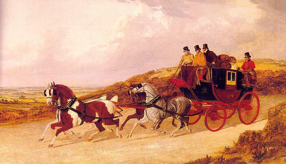 The Edinburgh and London Royal Mail