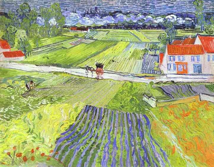 A Road in Auvers After the Rain