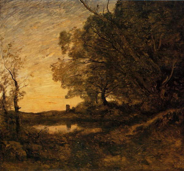 Evening - Distant Tower