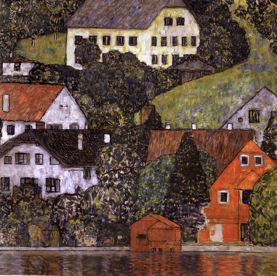House in Unterach on Lake Atter