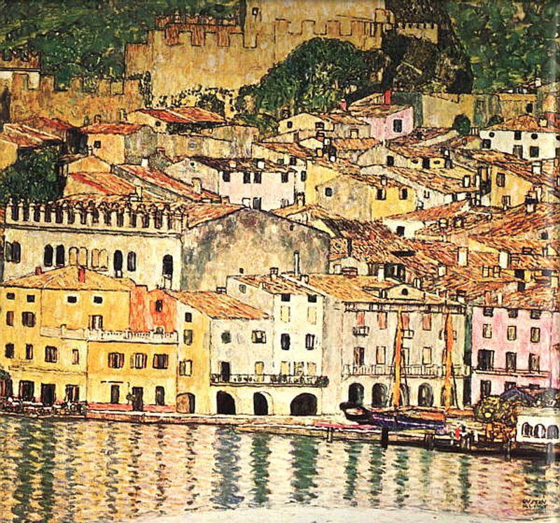 Malcensine on Lake Garda
