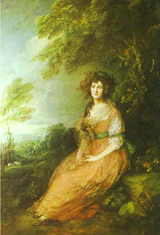 Mrs. Richard Brinsley Sheridan, nee Elizabeth Linley