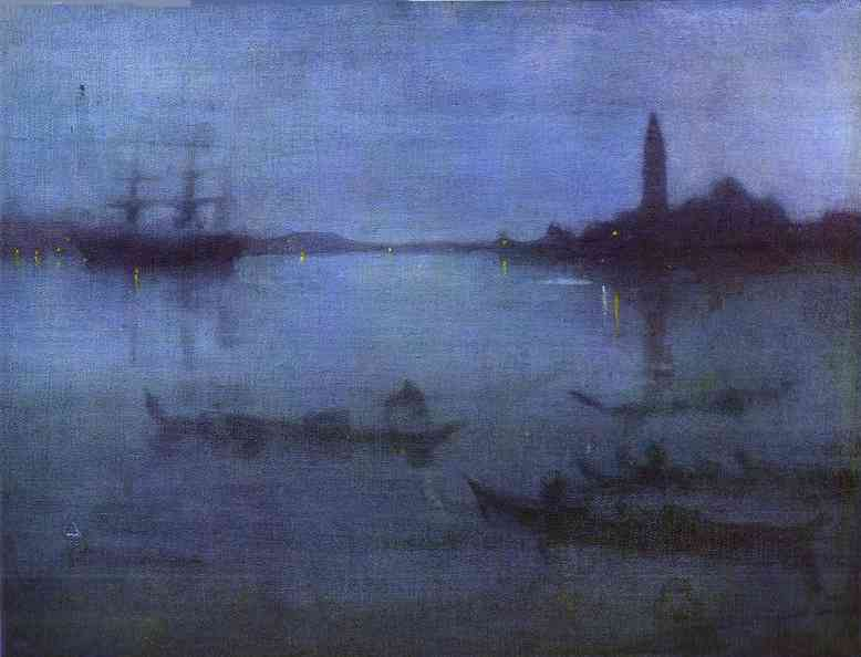 Nocturne in Bue and Silver - The Lagoon
