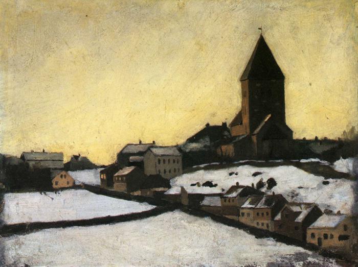 Old Aker Church