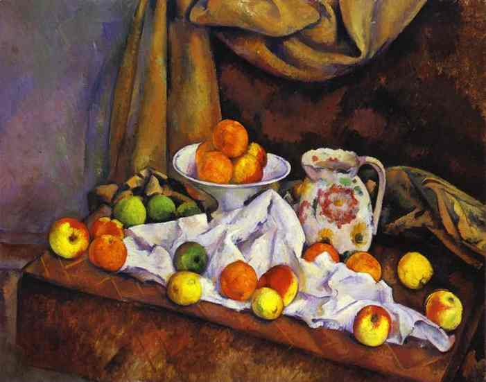 Still-Life with Fruit, Pitcher and Fruit Bowl