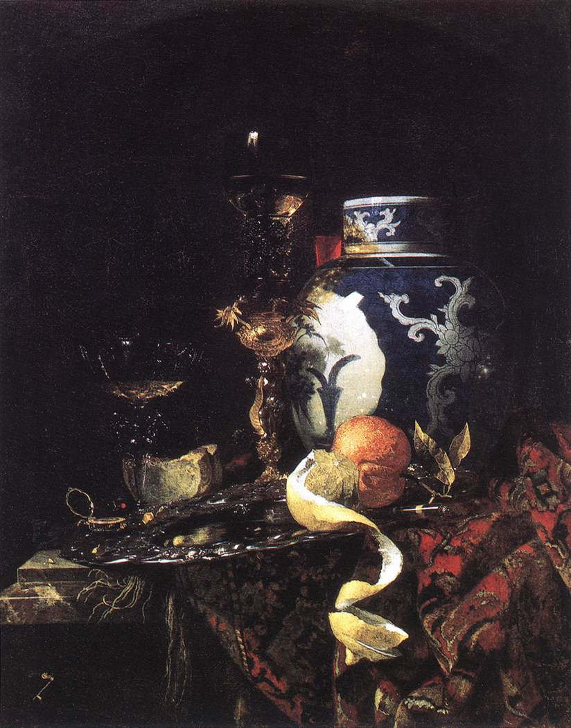 Still-Life with a Late-Ming Ginger Jar