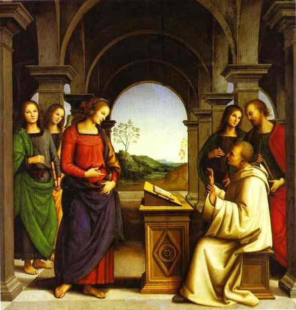 The Vision of St. Bernard