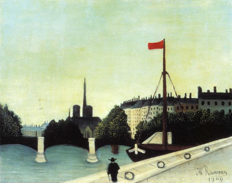 View from the Quai Henri IV