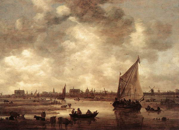 View of Leiden