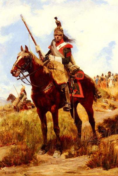 Artilleur a Cheval