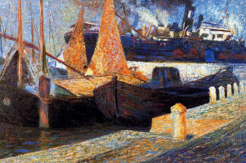Boats in Sunlight