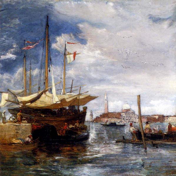 San Giorgio Maggiore From the Lagoon