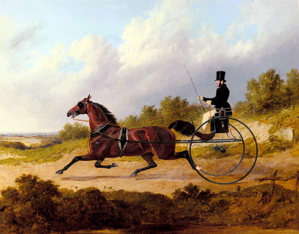 The Famous Trotter, Confidence, Drawing a Gig