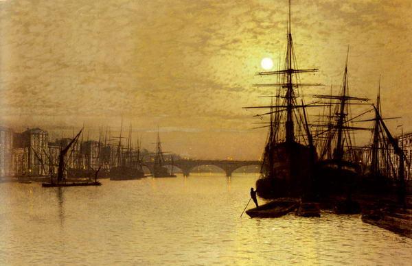 The Thames, Below London Bridge