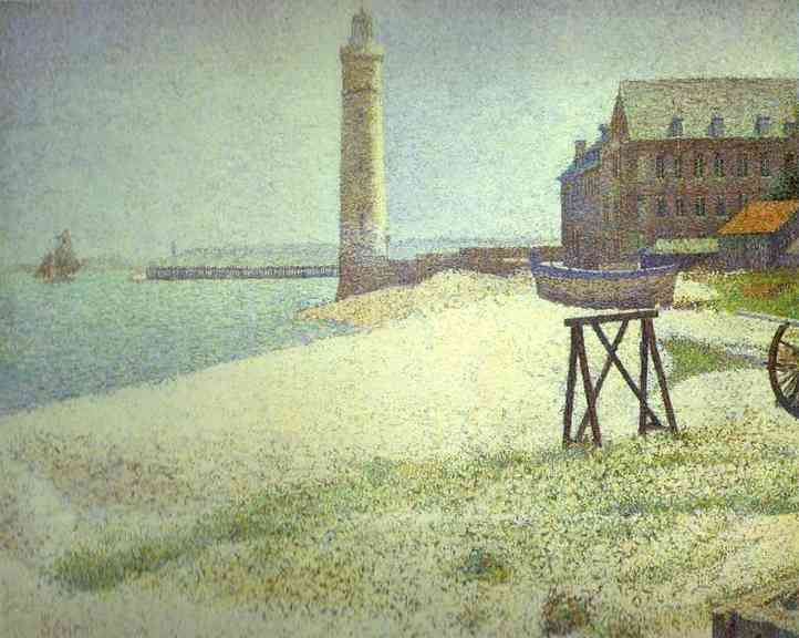 Hospice and Lighthouse - Honfleur