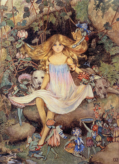 Pansy and the Fairies