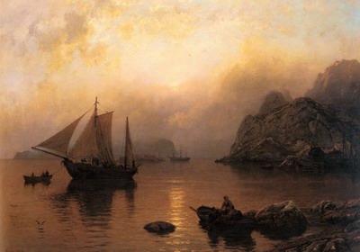 Fishing Party At Sunrise