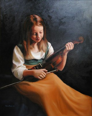 Girl with a Violin