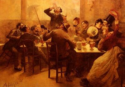 La Vie De Boheme, the bohemian life