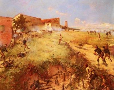 The Battle Of San Juan Hill, cuba