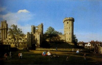 The Eastern Facade Of Warwick Castle