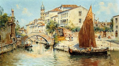 Venetian Canal Scenes
