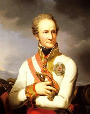 A Portrait Of Johann II Von Liechtenstein