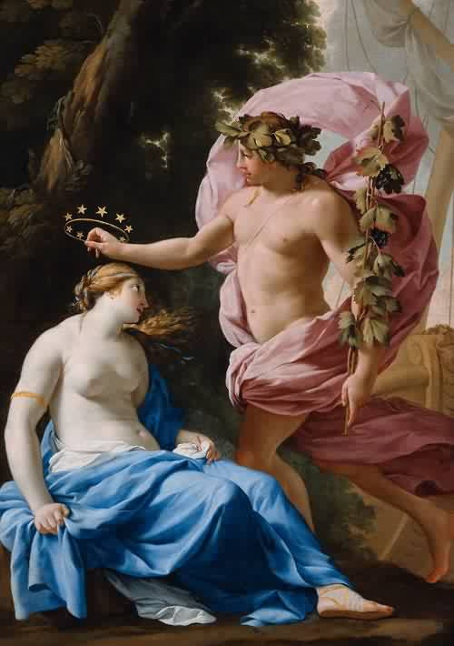Bacchus and Ariadne 1640