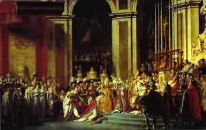 Consecration Of The Emperor Napoleon I And Coronation Of The Empress Josephine in