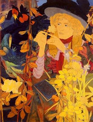 La Botaniste, the botanist