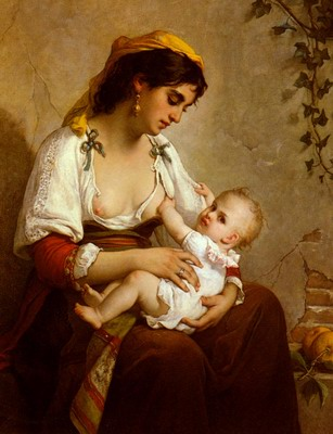 La Jeune Mere, the young mother