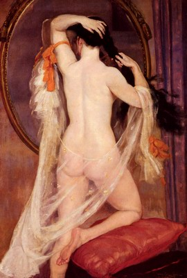 Nu Au Miroir, Nude before a mirror