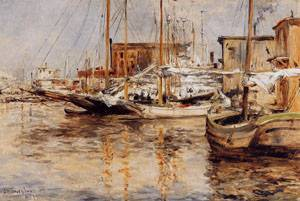 Oyster Boats North River 1879