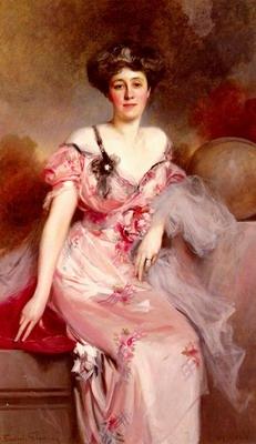 Portrait De Mme D...., portrait of mrs.D....