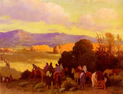 Rabbit Hunt, Taos Valley