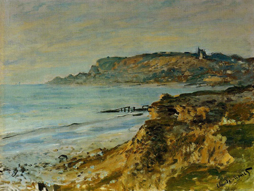 The Cliff at Sainte-Adresse 1873